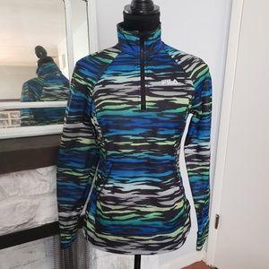 Fila athletic style multicolored sweatshirt. Sz XS